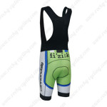 2013 Team Cannondale SUGOI Biking Bib Shorts Black Green Blue
