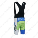 2013 Team Cannondale SUGOI Biking Bib Shorts Green Blue