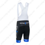 2013 Team Cervelo Spider tech Cycling Bib Shorts Black Blue