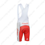 2013 Team Claro Cycling Bib Shorts Red