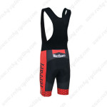 2013 Team FERRARI Biking Bib Shorts Red Black