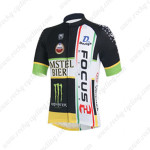 2013 Team FOCUS Cycling Jersey Black White