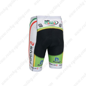 2013 Team FOCUS Cycling Shorts Black White