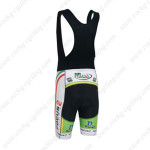 2013 Team FOCUS Riding Bib Shorts Black White