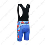 2013 Team GARMIN SHARP Biking Bib Shorts Blue Black Red