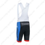 2013 Team GARMIN SHARP Cycling Bib Shorts Blue Black