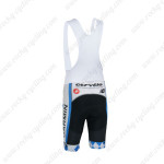 2013 Team GARMIN cervelo Cycling Bib Shorts Black White