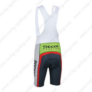 2013 Team GEOX RedBull Cycling Bib Shorts Grey Red