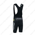 2013 Team HTC highroad Bicycle Bib Shorts Black