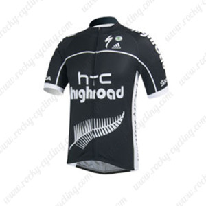 2013 Team HTC highroad Cycling Jersey Black