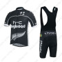 2013 Team HTC highroad Riding Bib Kit Black