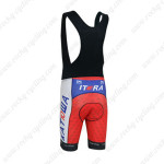 2013 Team KATUSHA Biking Bib Shorts Red