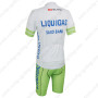 2013 Team LIQUIGAS SAXO BANK Bicycle Kit White Green