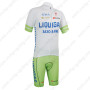 2013 Team LIQUIGAS SAXO BANK Bike Kit White Green