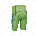 2013 Team LIQUIGAS SAXO BANK Cycling Shorts Green