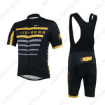 2013 Team LIVESTRONG Riding Bib Kit Black