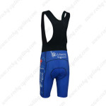 2013 Team Liberty Seguros Riding Bib Shorts Blue