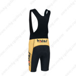 2013 Team MERIDA Biking Bib Shorts Black Yellow