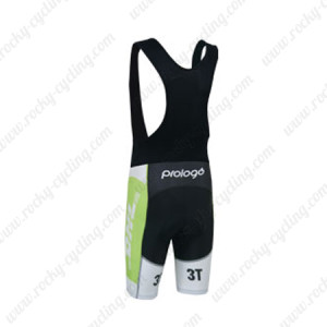 2013 Team MERIDA Biking Bib Shorts White Green