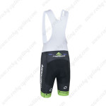 2013 Team MERIDA Cycling Bib Shorts Black Green