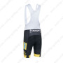2013 Team MTN Cycling Bib Shorts Yellow Black