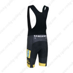 2013 Team MTN Riding Bib Shorts Yellow Black