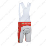 2013 Team Movistar Cycling Bib Shorts Blue White Red