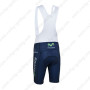 2013 Team Movistar Cycling Bib Shorts Dark Blue