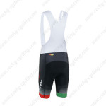 2013 Team NW Northwave Cycling Bib Shorts Black White