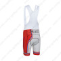 2013 Team PINARELLO Cycling Bib Shorts White Red Blue