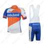 2013 Team Rabobank GIANT Cycling Bib Kit Orange Blue