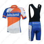 2013 Team Rabobank GIANT Riding Bib Kit Orange Blue