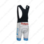 2013 Team Rothaus Riding Bib Shorts White Blue
