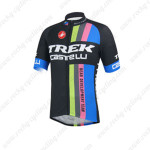 2013 Team TREK Castelli Cycling Jersey Black Blue