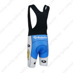 2013 Team Topsport Baloise Riding Bib Shorts White Blue