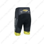 2013 Team Topsport Cycling Shorts Black Yellow