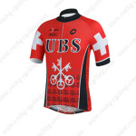 2013 Team UBS Cycling Jersey Red