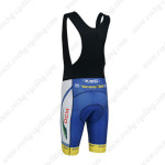 2013 Team Vacansoleil DCM Biking Bib Shorts Blue