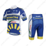 2013 Team Vacansoleil DCM Cycling Kit Blue