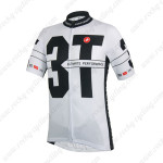 2014 Team 3T Castelli Cycling Jersey White Black