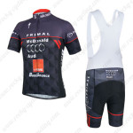 2014 Team Audi Cycling Bib Kit Black