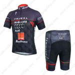 2014 Team Audi Cycling Kit Black