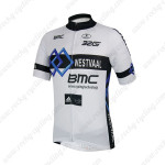 2014 Team BMC Cycling Jersey White Black