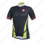 2014 Team CASTELLI Cycling Jersey Black Green