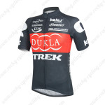 2014 Team DUKLA TREK Cycling Jersey Black Red