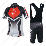 2014 Team FOX Biking Bib Kit Black Red