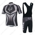 2014 Team FOX Riding Bib Kit Grey Black