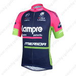 2014 Team Lampre MERIDA Cycling Jersey Blue Pink
