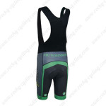 2014 Team ME HUTCHINSON Bicycle Bib Shorts Black Green