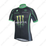 2014 Team ME HUTCHINSON Cycling Jersey Black Green